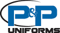 P and P Uniforms Logo